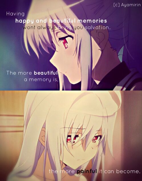 Isla Plastic Memories quote