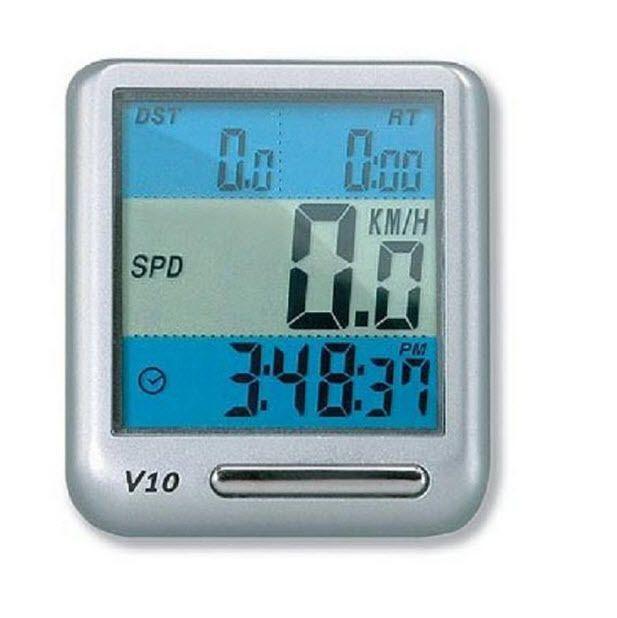 Wireless Cycle Computer Bike Speedometer Odometer Wide Digital LCD Screen Sleep #Topeak