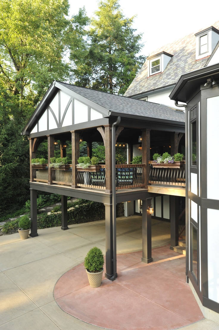 Beautiful Outdoor Living Space/Porch by The Howland Group ... on Beautiful Outdoor Living Spaces id=49961