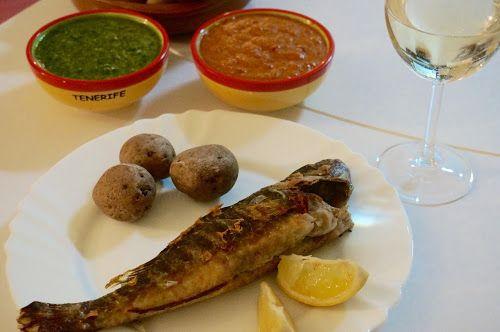 Home food: Канарский красный соус Mojo Picon и вьеха на гриле / Canary Mojo Picon red sauce and grilled vieja