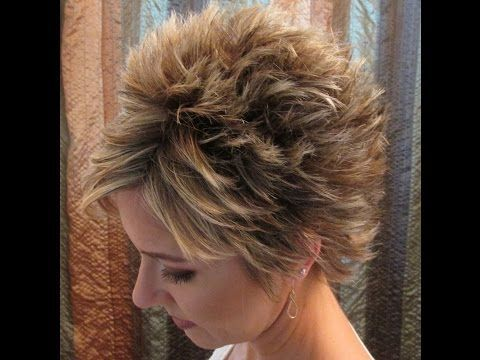 how to style stacked short layered hairstyles  stacked