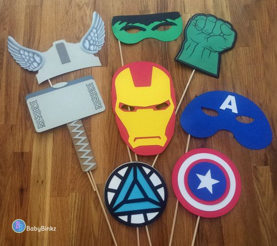 Apoyos de la foto: El Marvel Vengadores Super Hero por BabyBinkz