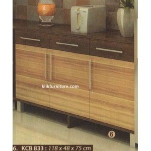 KCB 833 Kitchen Set Bawah 3 Pintu Sucitra Limited Series ukuran 118 x 48 x 75 cm http://klikfurniture.com/kitchen-set-minimalis-sucitra/1264-kcb-833-kitchen-set-bawah-3-pintu-sucitra.html