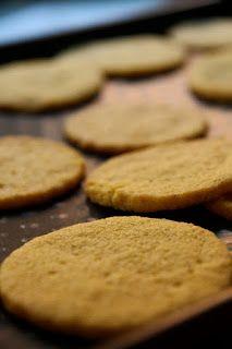 Shortbreads à la farine de maïs, vanille et fleur de sel