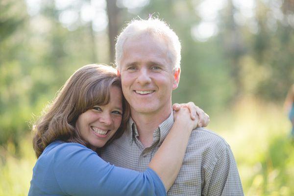 Older Couple Anniversary sesh