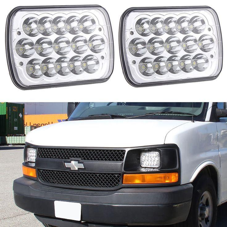 "56.05$  Watch here - https://alitems.com/g/1e8d114494b01f4c715516525dc3e8/?i=5&ulp=https%3A%2F%2Fwww.aliexpress.com%2Fitem%2F2PCS-7x6-LED-Chrome-Crystal-Sealed-Beam-Headlights-H6014-H6052-H6054-for-GMC-Ford%2F32740899626.html - ""2PCS 7x6"""" LED Chrome Crystal Sealed Beam Headlights H6014,H6052,H6054 for GMC Ford"" 56.05$"