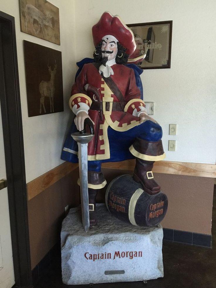Captain Morgan Statue