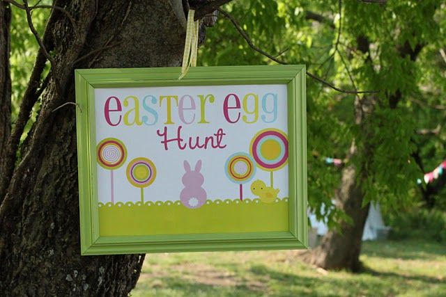 easter: Easter Parties, For Kids, Easter Spr, Easter Eggs Hunt'S, Parties Ideas, Great Ideas, Parties Signs, Hunt'S Parties, Easter Ideas