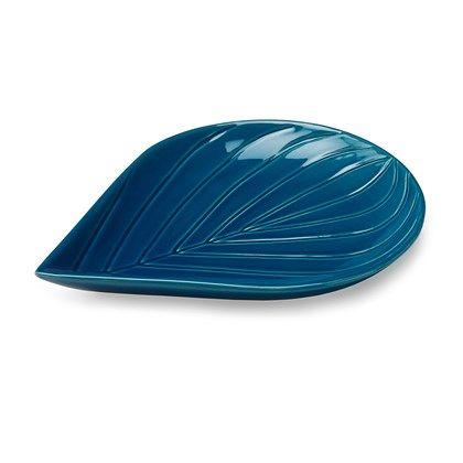 Kähler Cono bladskål bøg blå