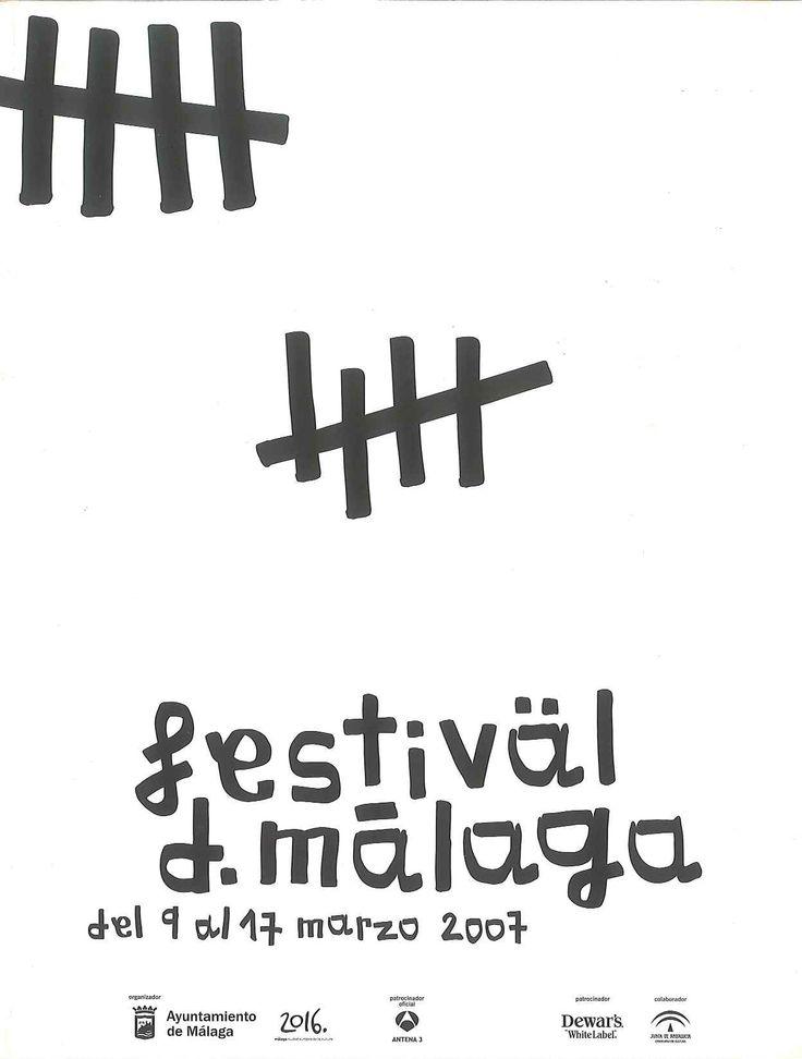 Cartel Festival Cine Malaga 2007
