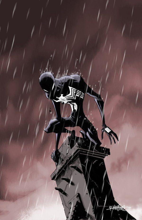 FijARTE: FanArt Spiderman black Ruben Martínez