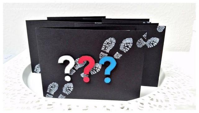 Drei Fragezeichen - Kindergeburtstag - kreativmitkatja