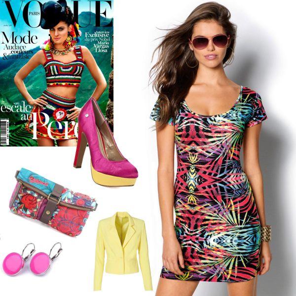 Buďte pestrá! #fashion #dress #colours #šaty #barvy #moda #trend