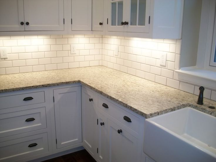 Caulking Kitchen Backsplash Picture 2018