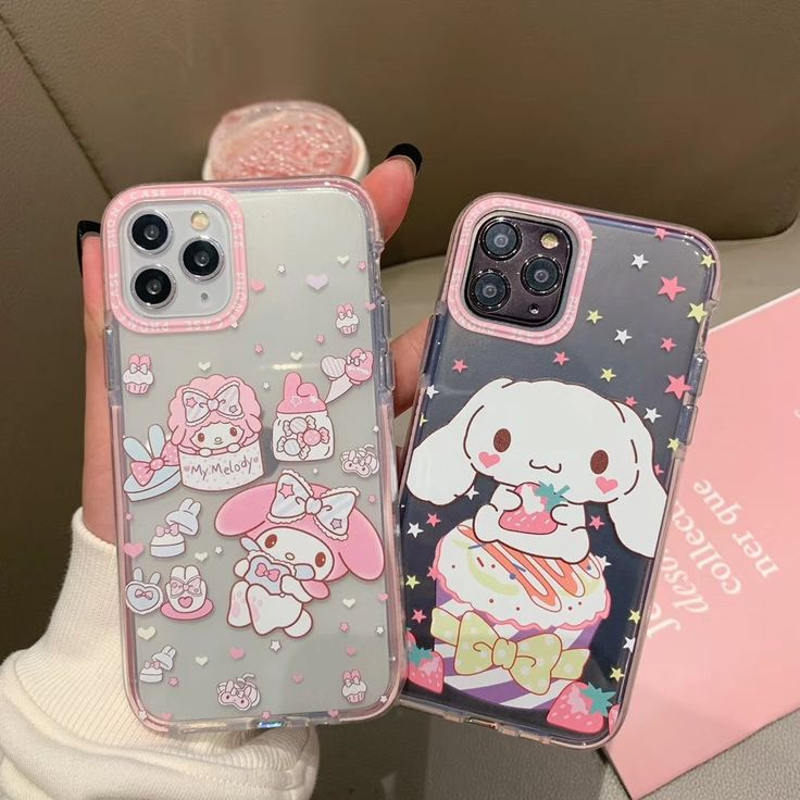 Cartoon duffy cat my melody phone case for iphone 11 pro x