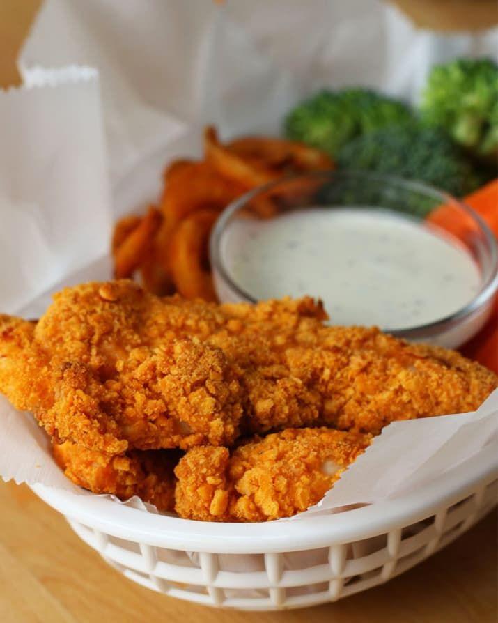 Cheddar Ranch Chicken Strips