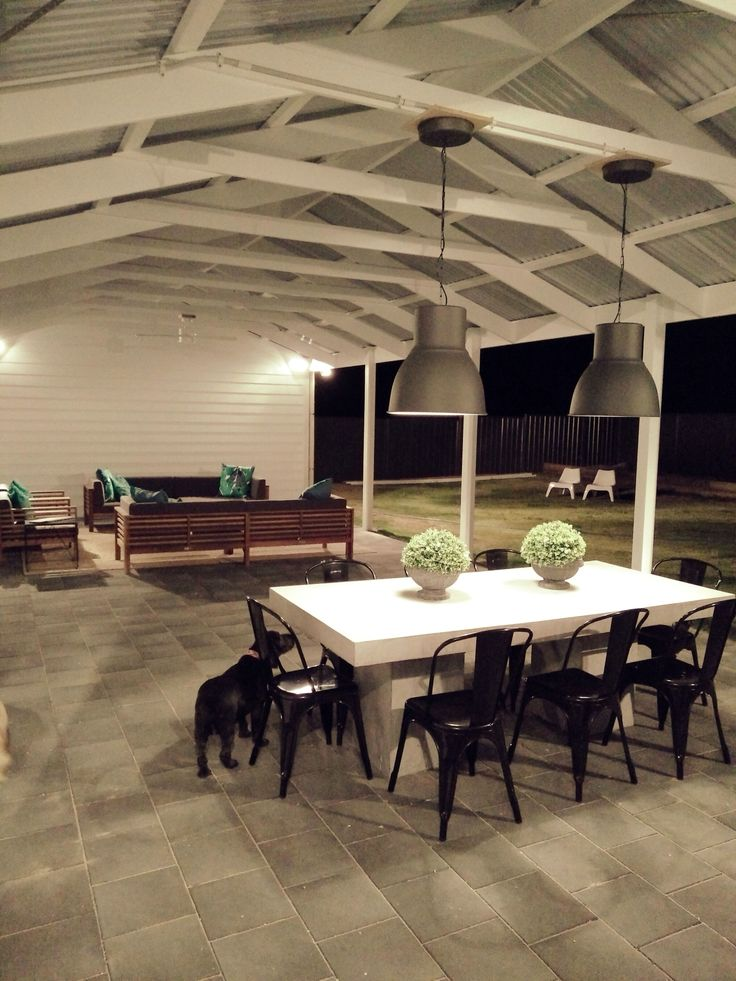 Villa Malmö outdoor entertaining area Robe South Australia