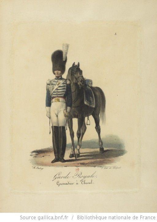 [Maison du Roi et garde royale de Louis XVIII, 1817.] / Ch. Aubry - 10