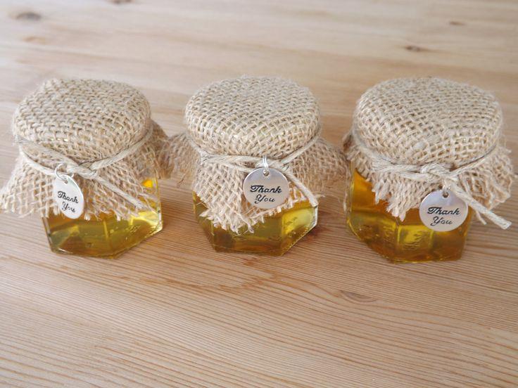 honey jar favors wedding jar favors rustic favors bridal shower baby shower favors