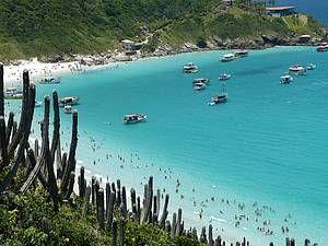 Arraial do Cabo, Rio de Janeiro, #Brazil | Prainhas do Pontal: Mar com águas geladas, mas cristalinas e com diversificada vida marinha, próprias para mergulho.