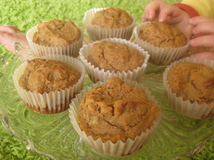 almás-sütőtökös muffin