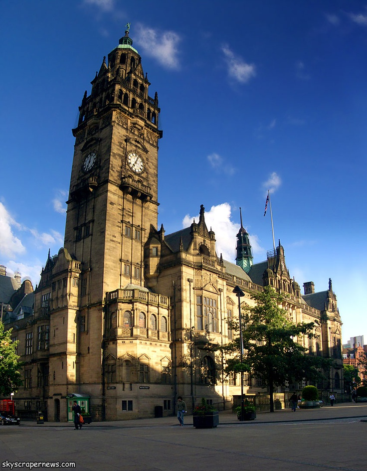 Sheffield Town Hall.   #Sheffield find our store at 5a The Arcade (Unit 23), Meadowhall, Sheffield, South Yorkshire. S9 1EH