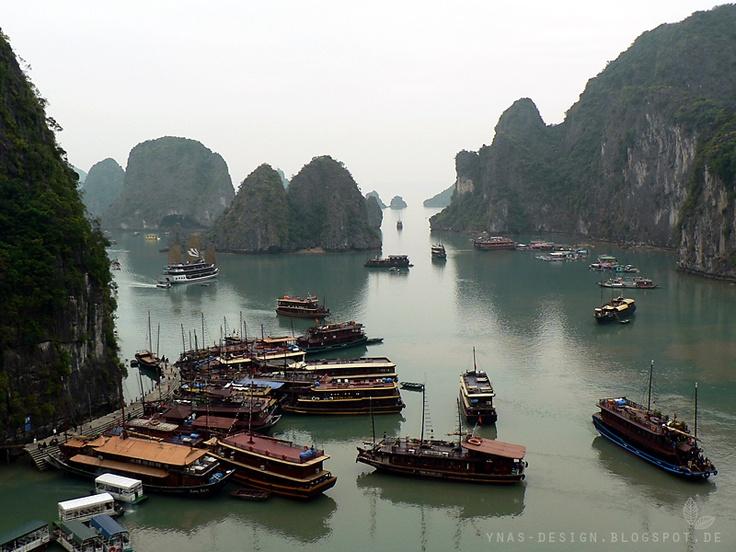 Halong Bucht. Vietnam
