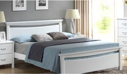 http://homeandofficefurniture.weebly.com/blog/plain-but-classy-white-leather-bed-frames White Leather Bed Frame Brisbane A white leather bed frame is a good match for any bedroom designs.