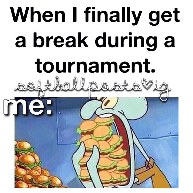 Tournament life!! This is so true its ridiculous!!