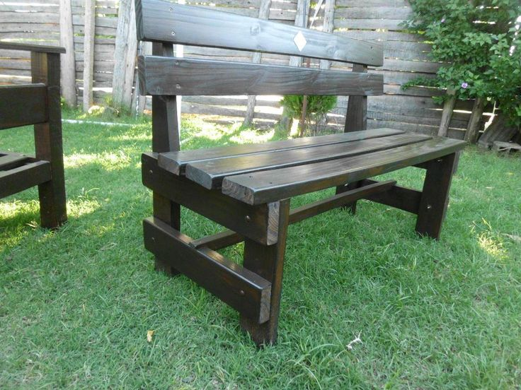 427 best images about stools benches diy on pinterest for Bancas de madera para jardin