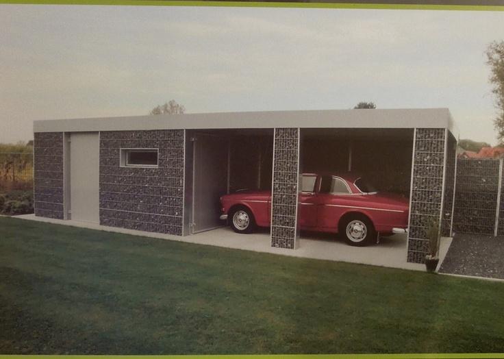 garage carport schans steenkorven pinterest porch. Black Bedroom Furniture Sets. Home Design Ideas