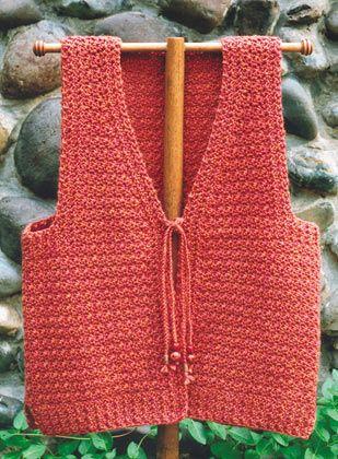 crochet vest plus size - Google Search
