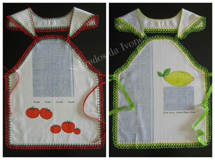 AC23 - Confecção de remate em crochet, partindo de pano de loiça.