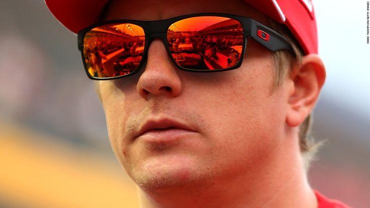 Kimi Raikkonen in Oakley OO9189 TWOFACE 918920 FERRARI ...