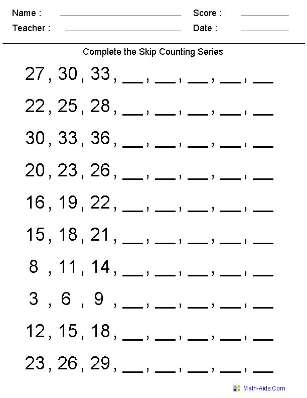 skip counting kindergarten worksheets free worksheets pinterest skip counting. Black Bedroom Furniture Sets. Home Design Ideas
