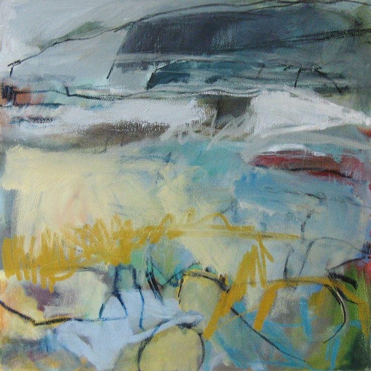 'Strata-II',-oil-on-canvas,-61-x-61cm