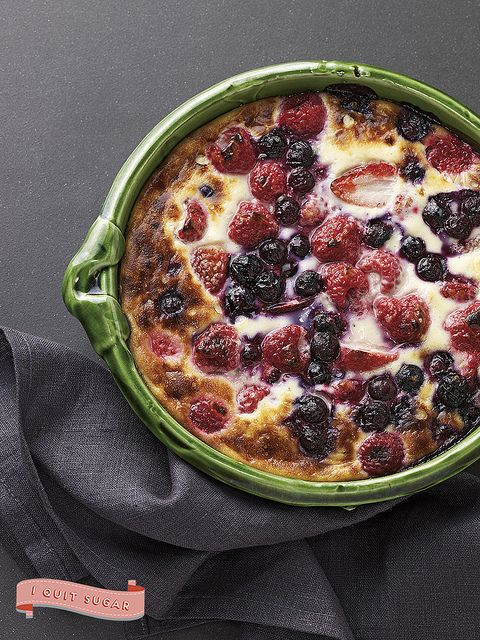 Berries with Caramelized Cream from Sarah Wilson's best-selling cookbook, I Quit Sugar. Pre-order your copy today!