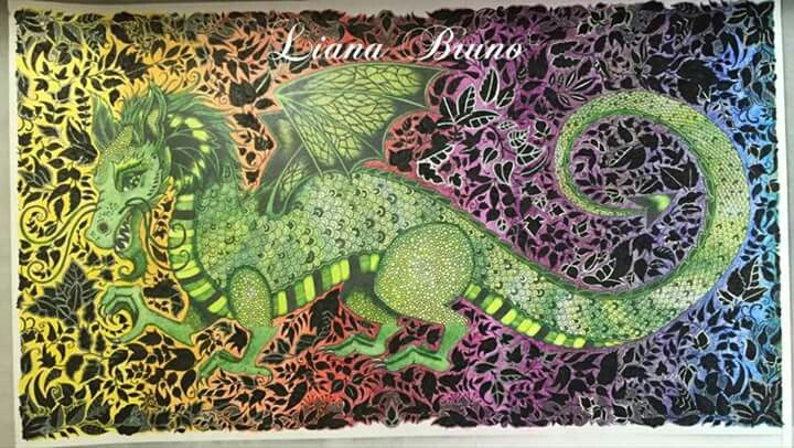 enchanted forest dragon original - photo #2