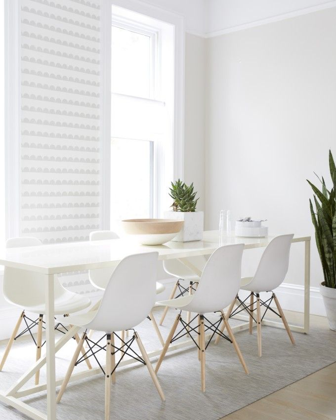 White Modern Dining Room 1018 best d i n i n g images on pinterest | dining room, live and