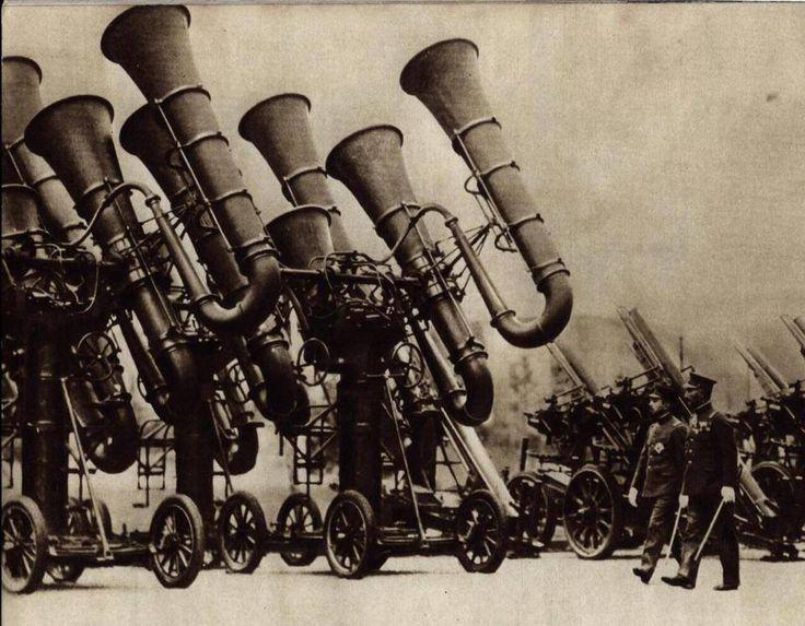 Dispositivos para el espionaje de las comunicaciones. Japón, 1930.