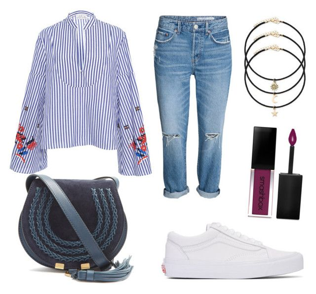 👔👖👟 by stacyk01 on Polyvore featuring polyvore, fashion, style, Vans, Chloé, Tanya Taylor, Smashbox and clothing