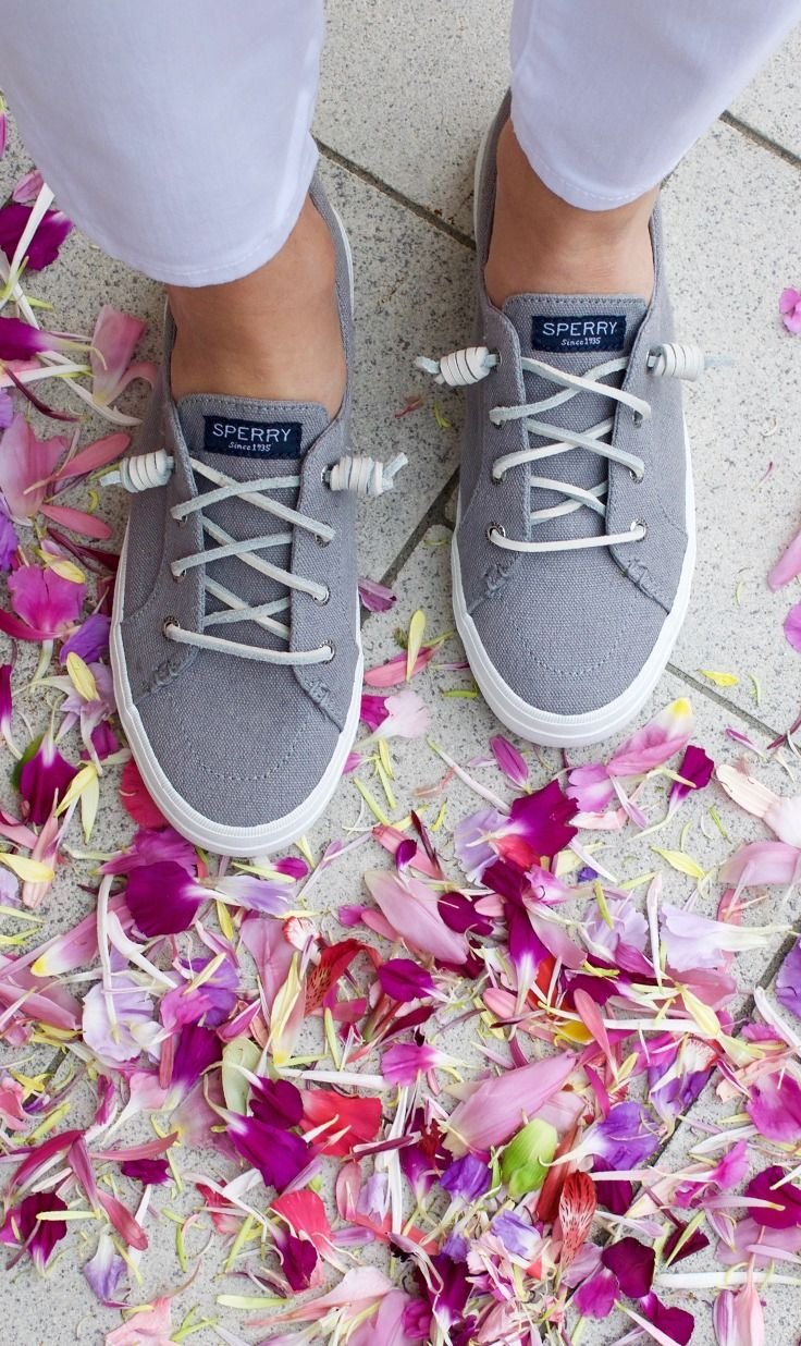 Flower power. Shop the Sperry Crest Vibe.