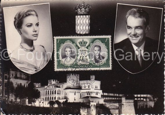 Princess Grace and Prince Rainier III Monte by foundphotogallery