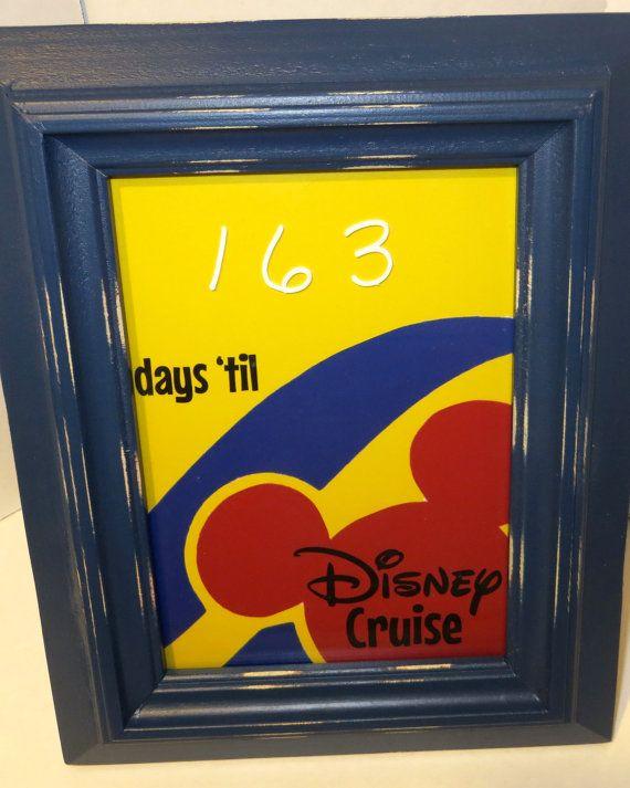 Countdown to Disney Cruise Calendar