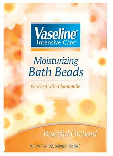 Vaseline Intensive Care Moisturizing Bath Beads Enriched with Chamomile Peaceful Orchard 24 oz