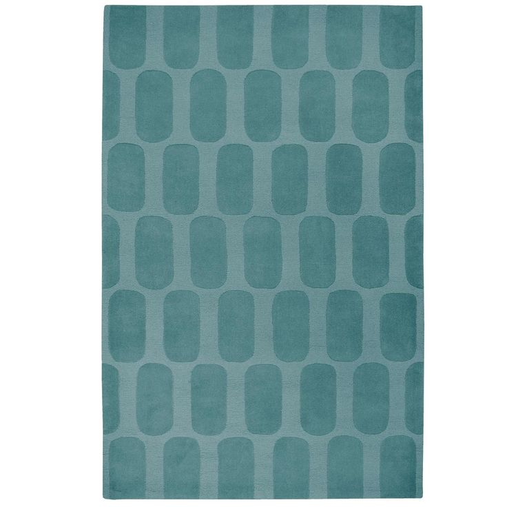 Modern Colors Plush Rug: Yellow or Teal, 8x10, Shades of Light, $625