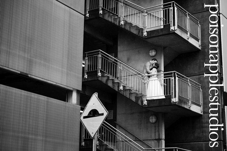 Not your average wedding portrait. #brisbane #wedding #photography