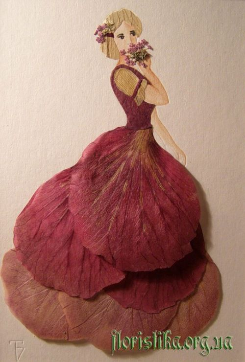 Dried Petals Art