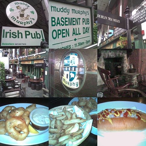 """""""[Muddy Murphy's Irish Pub Singapore] serves the best Kilkenny beer and great finger licking food like calamari rings and potato wedges in crab dip. We love the ambience and especially like to plonk ourselves on the grandfather rocking chairs"""" - by Casserole of my life (blog)"""