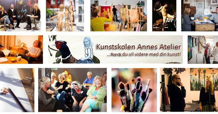 Kunstskolen Annes Atelier - fordi du vil videre med din kunst